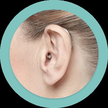 Hinter-Dem-Ohr-Hörsystem